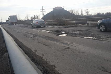 Мерія готова співфінансувати ремонт моста на Берегівській-об'їзній