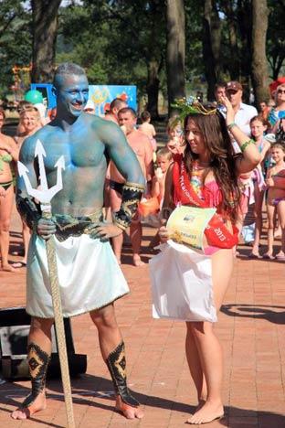 Нептун святкував  у Косині