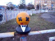 Ужгородський стрит-арт з'явився… на перилах