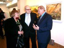 Екс-президент Словаччини Рудольф Шустер приїхав на ювілей до закарпатського живописця