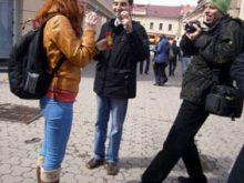 В Ужгороді пройшов фестиваль пускання мильних бульбашок