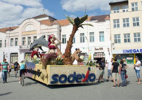 На площі Театральній  в Ужгороді  гостювала «Русалонька»