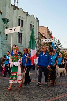 У Мукачеві триває міжнародний чемпіонат зі слідової роботи собак службових порід