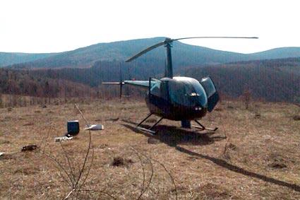 Ой, чий то вертоліт припарковано  в Пузняківцях?