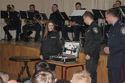 Школа юного помічника поліції запрацювала в Ужгороді
