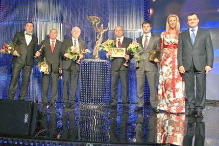 Два наші підприємства отримали нагороди всеукраїнського рейтингу «Сумлінні платники податків-2012»