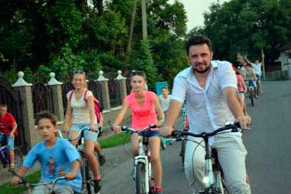 У велопробіг Іршавщиною покликав священик