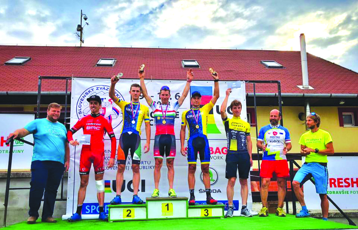 Володимир Козловський –срібний призер у Словаччині