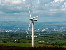 На Чорній горі у Виноградові  запрацює вітряк