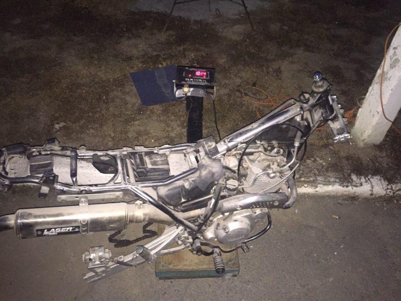 Закарпатські митники вилучили мотоцикл «YAMAHA XT 600E»