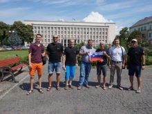 На Закарпаття прибули учасники велопробігу Лендава-Ужгород