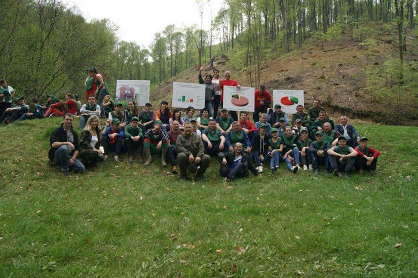 """Лісівники ДП """"Довжанське ЛМГ"""" заліснили понад 80 га площі лісфонду"""