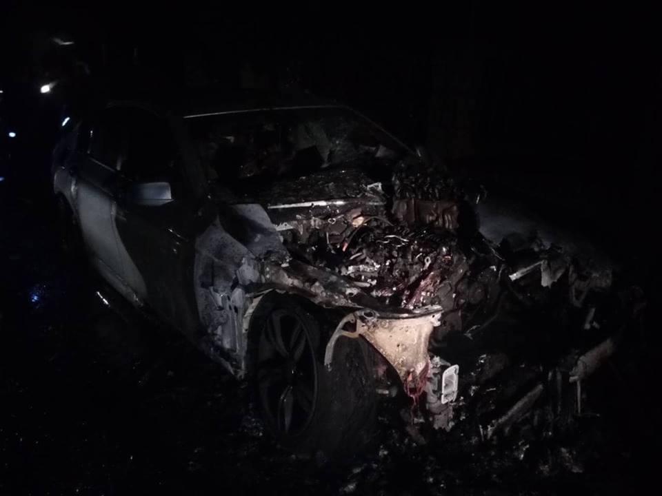 Упродовж доби на Закарпатті горіли три автомобілі