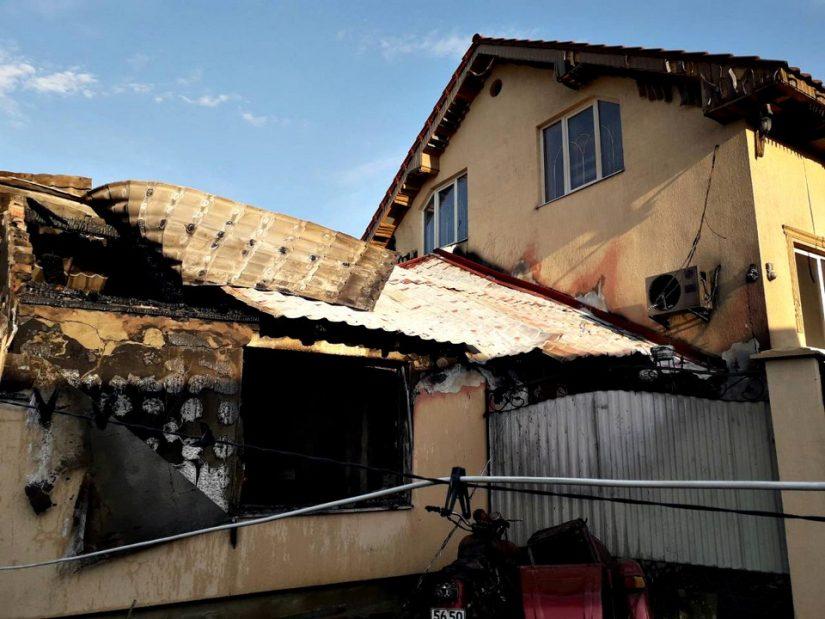 На Мукачівщині у вогні загинув чоловік