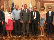 Міський голова Ужгорода взяв участь у роботі Світового Саміту Партнерства у Тбілісі