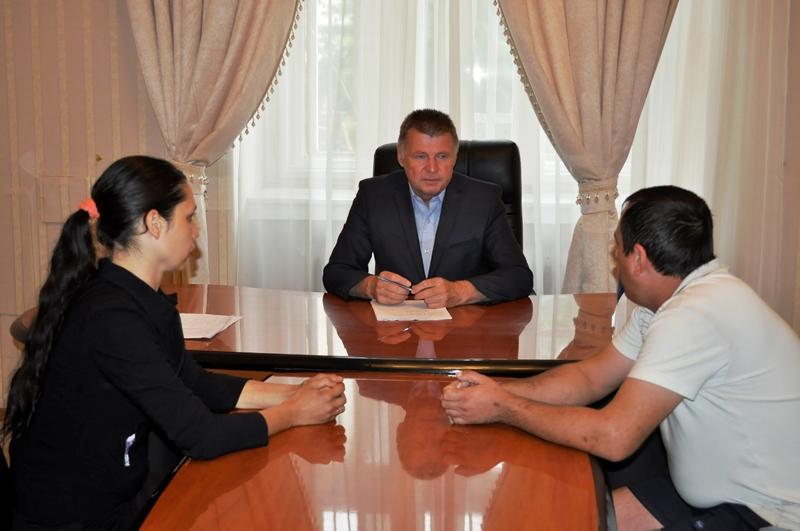 Перший заступник голови облради провів прийом громадян з особистих питань