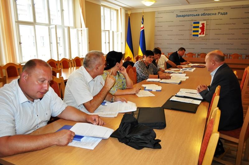 Профільна комісіяз питань освіти, науки та культури обговорила матеріали 12 сесії облради, низку листів і звернень