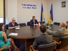 Ужгородський міський голова зустрівся з Генеральним консулом Республіки Польща у Львові