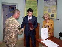 Сьогодні були урочистості в Ужгородському зональному відділі Військової служби правопорядку