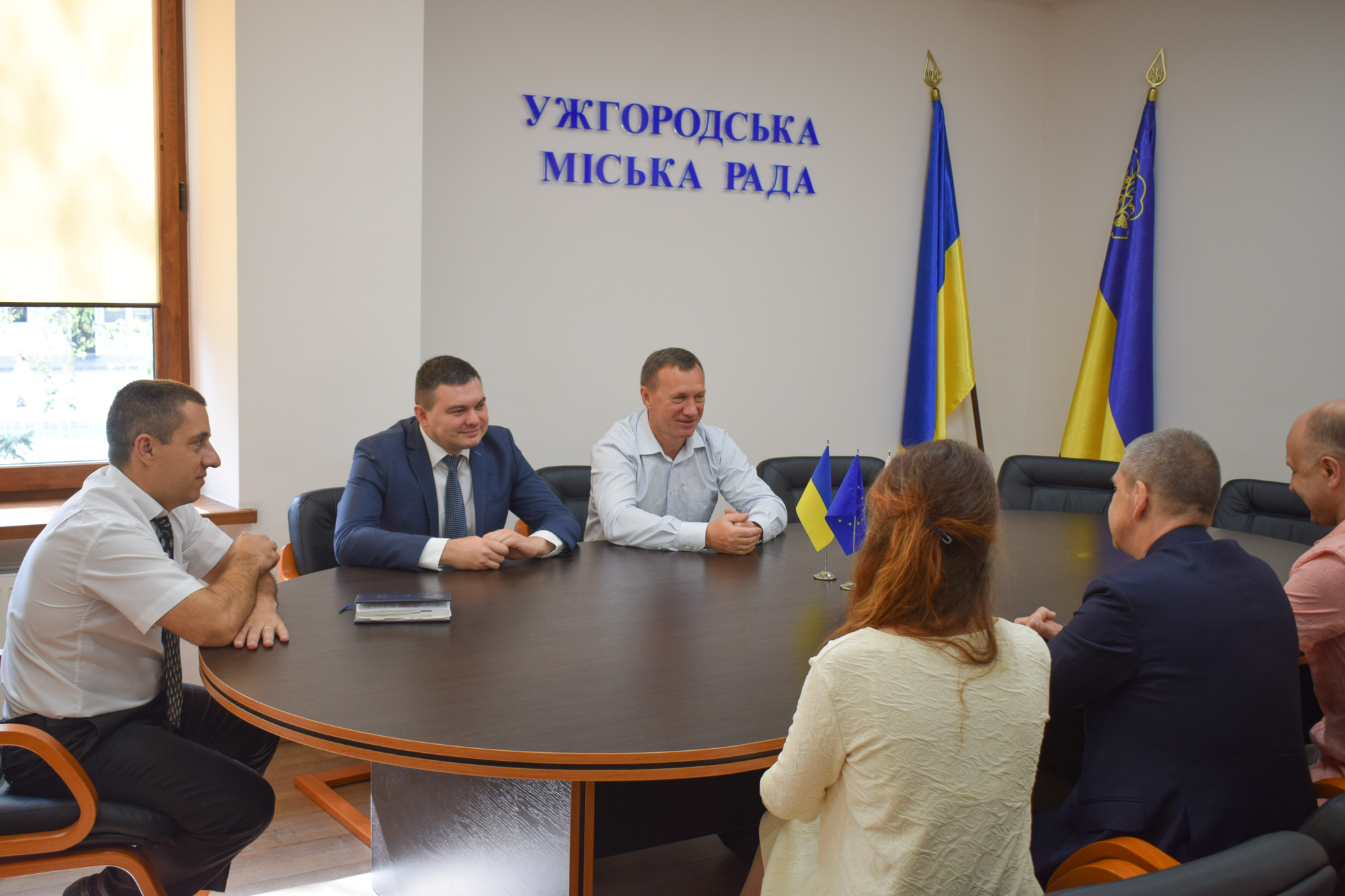 Ужгородські урядники зустрілися з представником Польщі