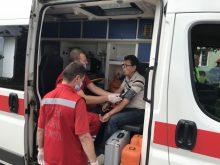 Рятувальники спільно із службами життєзабезпечення ліквідували умовну пожежу на підприємстві