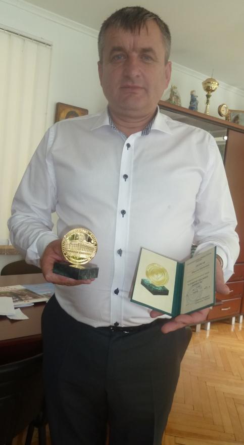 Нагороду отримав керівник НПП «Синевир»