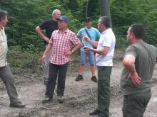 Лісівники зі Швейцарії навідалися з робочим візитом на Перечинщину