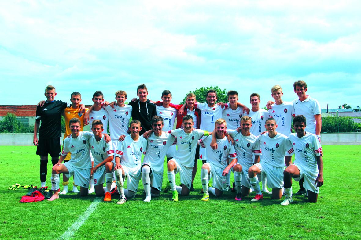 Львівські «Карпати» U-17  і донецький «Шахтар» U-15  – переможці турніру Андрія Гаваші