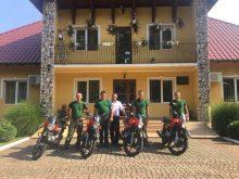 На Берегівщині лісова охорона пересіла на мотоцикли