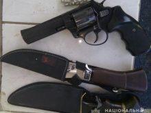 Поліцейські Іршавщини у жителя району вилучили незареєстровану зброю