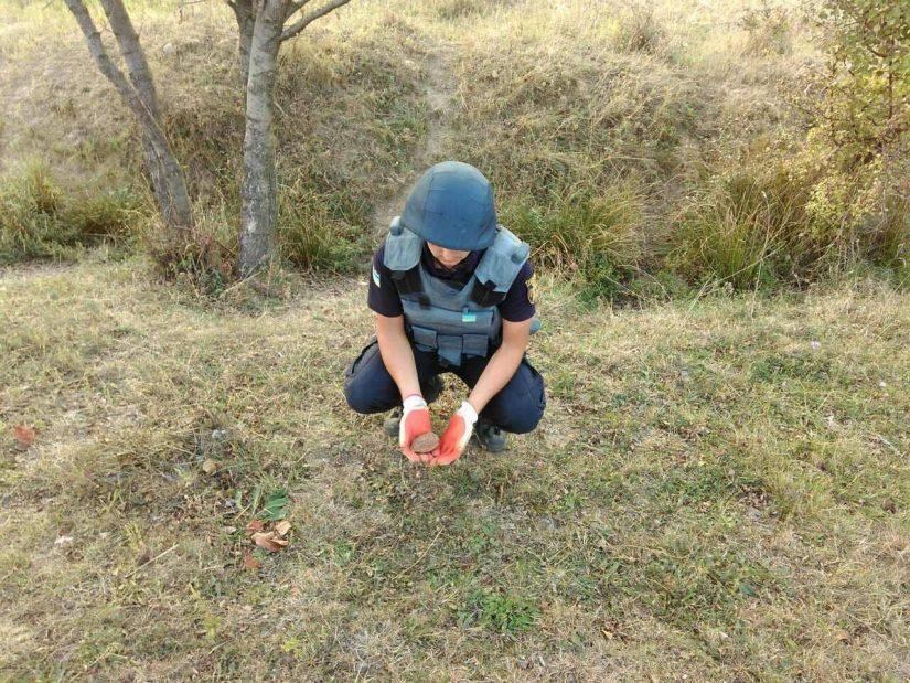 Піротехніки на Ужгородщині знищили гранату Ф-1