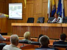 В Ужгородіській міській раді знову обговорювали капітальний ремонт набережної Незалежності