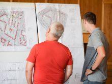 Детальні плани 11 територій в Ужгороді обговорили напередодні на громадських слуханнях у міській раді