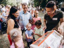 """""""Щасливі діти"""" святкували день народження Ужгорода і займалися благодійністю"""