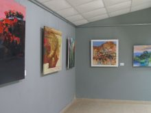У Виноградові відкрили виставку робіт учасників Міжнародного мистецького пленеру «Чорна гора»