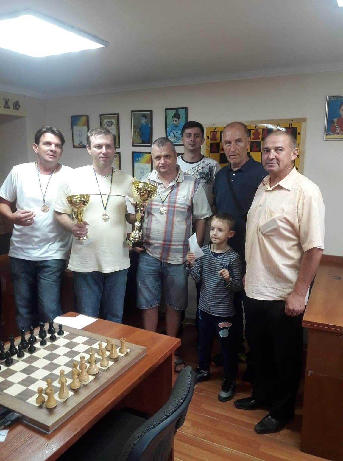 Як шахісти привітали святого Михайла