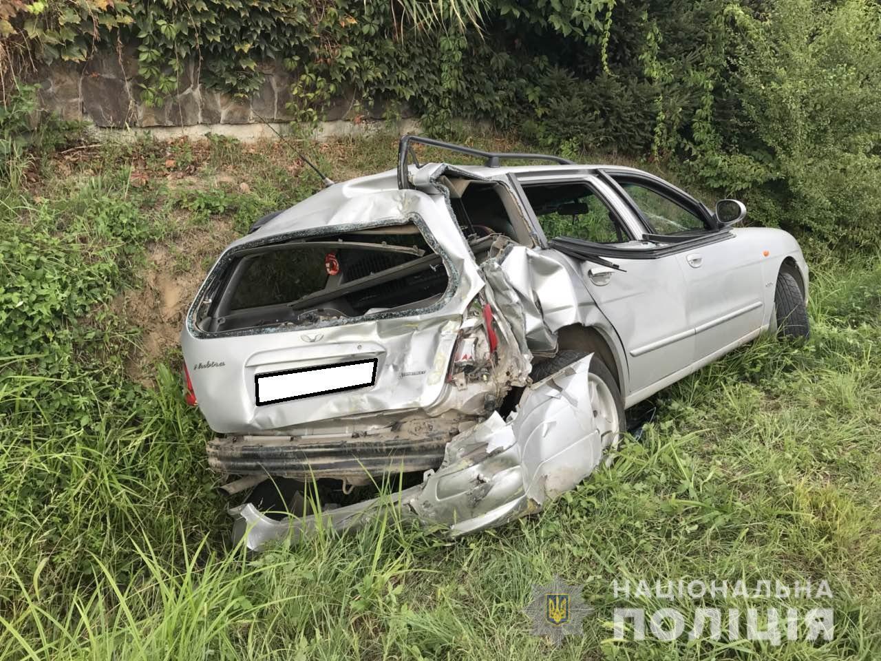 Поліцейські затримали п'яного водія вантажівки, який скоїв аварію з потерпілими і втік з місця події