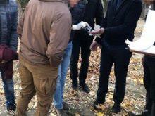 В Ужгороді при отриманні 200 доларів хабара затримали заступника керівника  філії державного банку