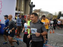 Перший Uzhhorod Half Marathon відбувся сьогодні в обласному центрі Закарпаття