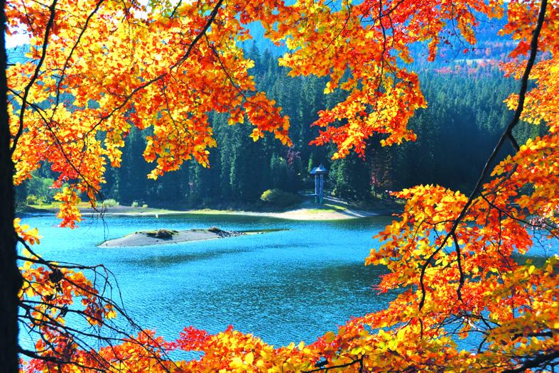 Осінь на Синевирському озері – прекрасна!