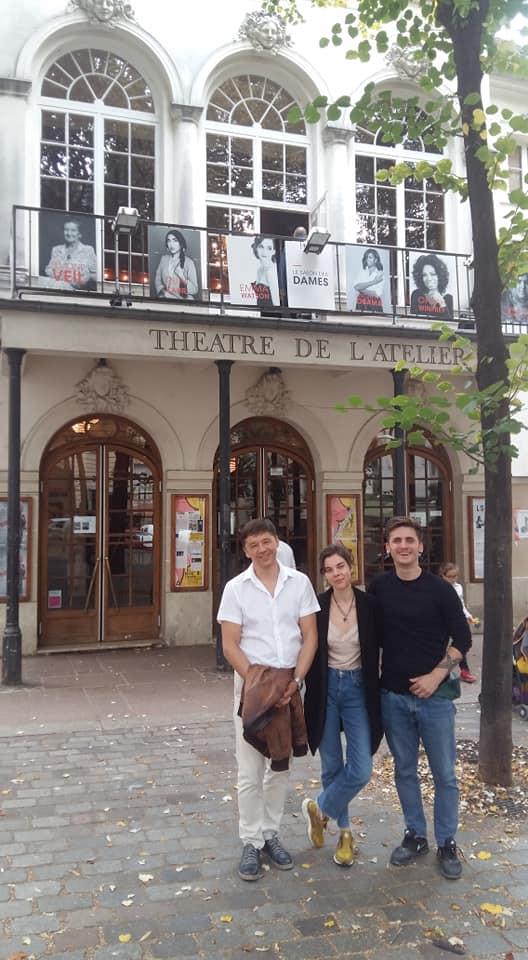 Закарпатський муздрамтеатр повернувся з гастролей у Парижі й Києві