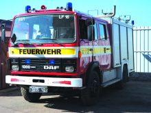 Пожежне авто отримали хустські вогнеборці
