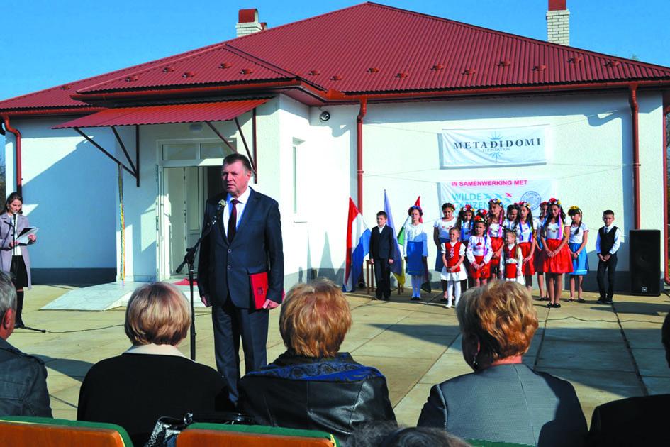 Новий корпус мають учні початкової школи у Саловці – завдяки благодійникам