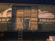 У вантажному вагоні прикордонники виявили контрабандні цигарки