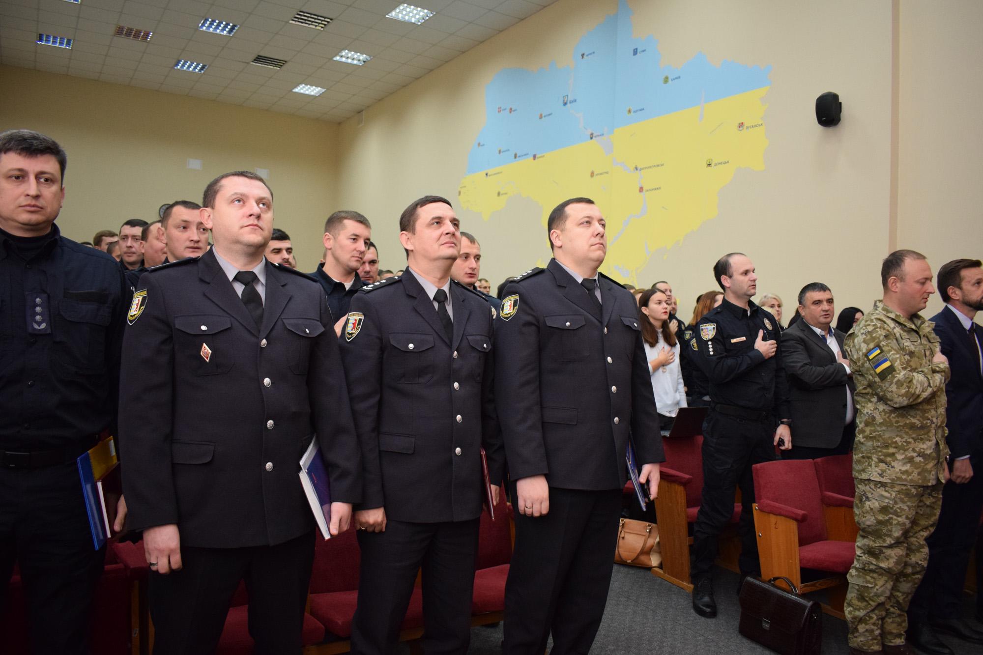 В Ужгороді вітали патрульних поліцейських