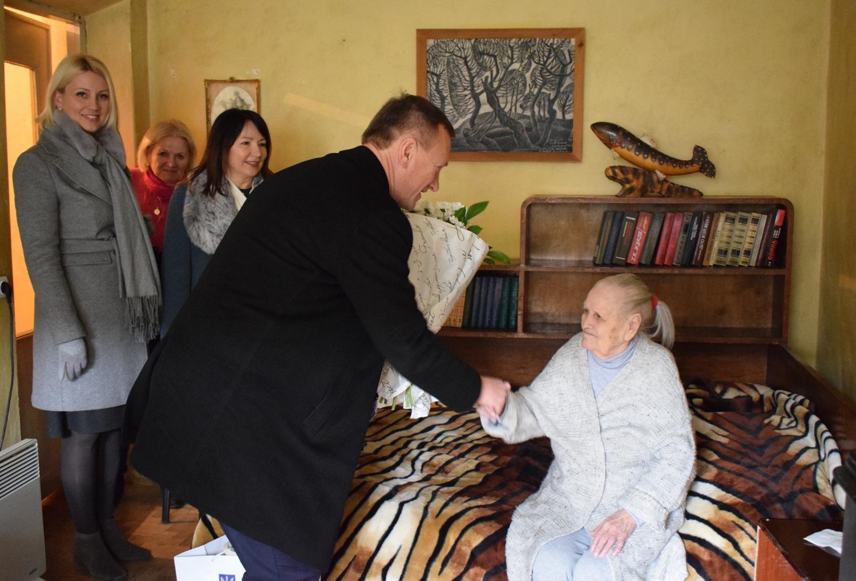 100-літній ювілей відзначила ужгородка Ганна Дьяченко