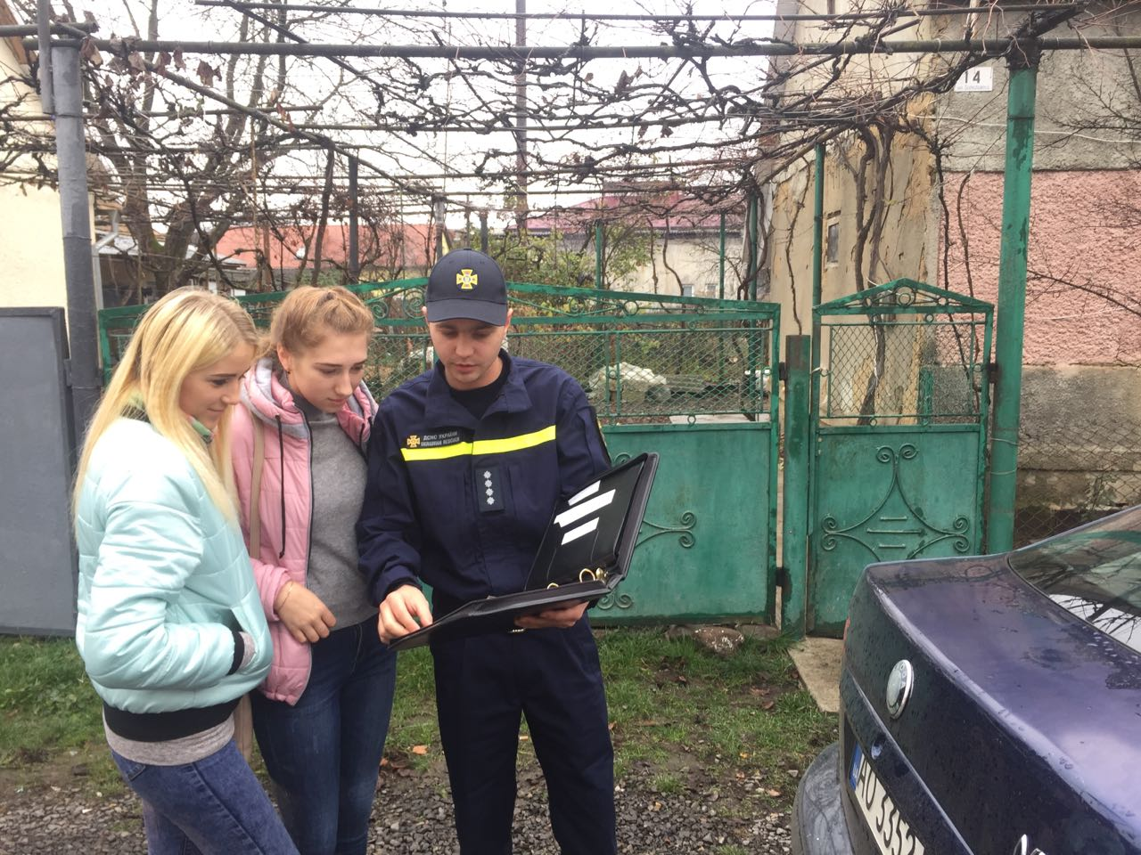 Іршавські рятувальники провели рейд житловим сектором