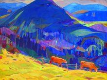Колективну виставку словацьких митців представили в Генконсульстві