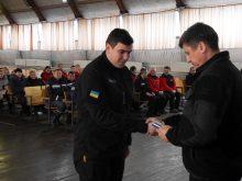 В Ужгороді відзначили 13 років діяльності аварійно-рятувального загону спецпризначення