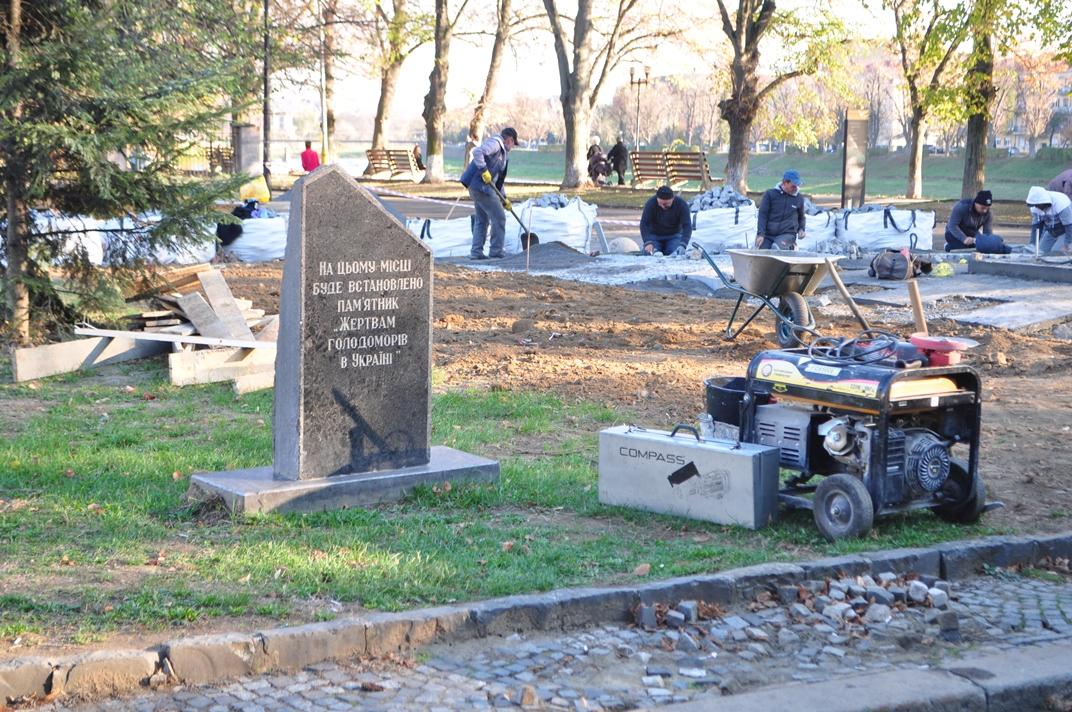 Встановлення пам'ятника жертвам Голодоморів в Ужгороді – на фінішній прямій